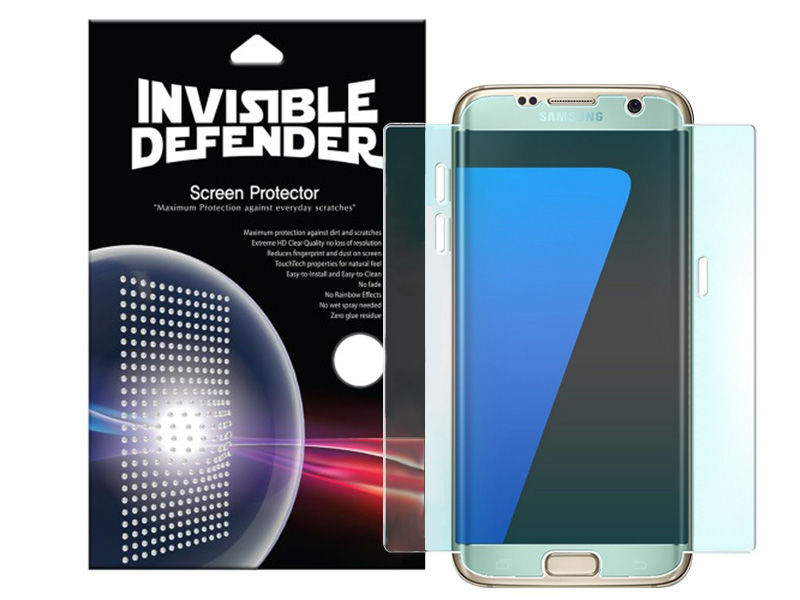 2 x Folia 3D Ringke Invisible Defender Samsung Galaxy S7 Edge