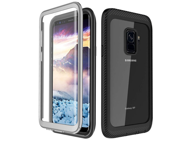 Etui Alogy full-body rugged 360 do Samsung Galaxy S9 Czarne