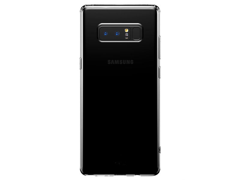 Etui Baseus Samsung Galaxy Note 8 simple series tpu czarne - Czarny