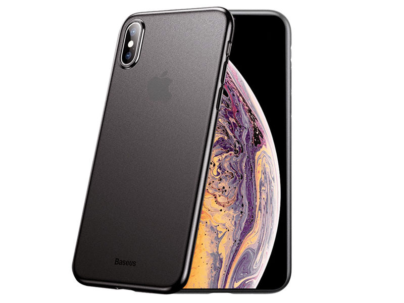 Etui Baseus Wing case do Apple iPhone XS Max + Szkło Alogy