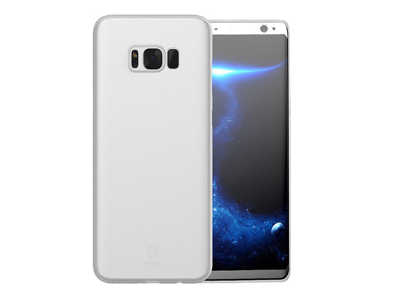 Etui Baseus Wing case do Samsung Galaxy S8+ Plus Białe - Biały