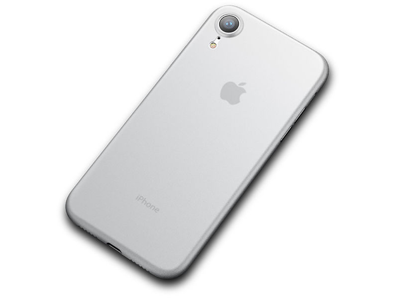 Etui Cafele ultra slim do Apple iPhone Xr białe - Biały
