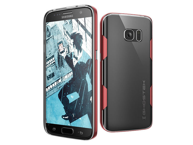 Etui Ghostek Cloak Samsung Galaxy S7 Edge Czerwone
