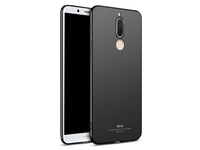 Etui MSVII Thin Case do Huawei Mate 10 Lite Czarne - Czarny