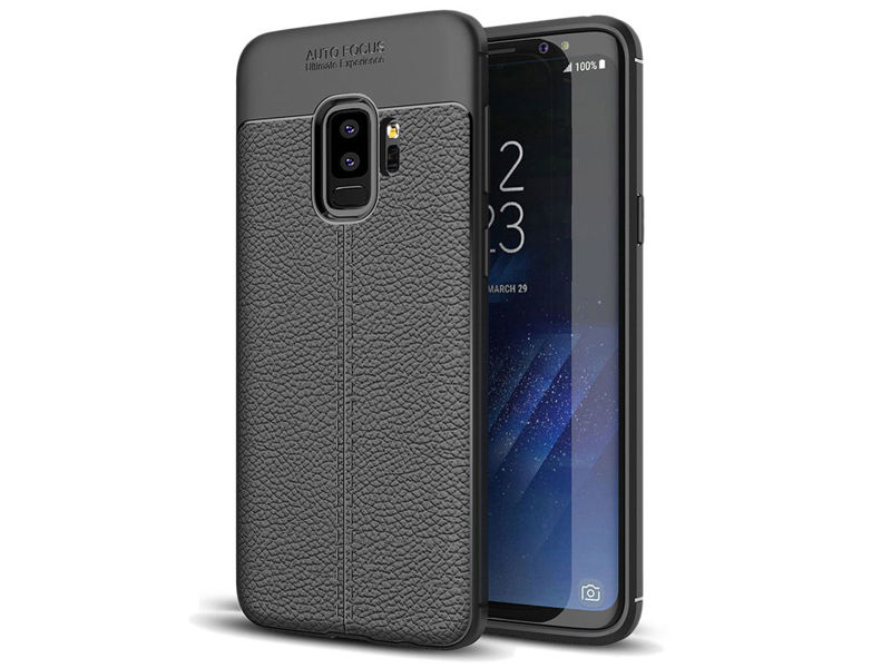 Etui pancerne Alogy leather case Samsung Galaxy S9+ Plus + Szkło