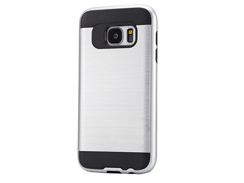 ETUI PANCERNE DO SAMSUNGA GALAXY S7 EDGE - Srebrny
