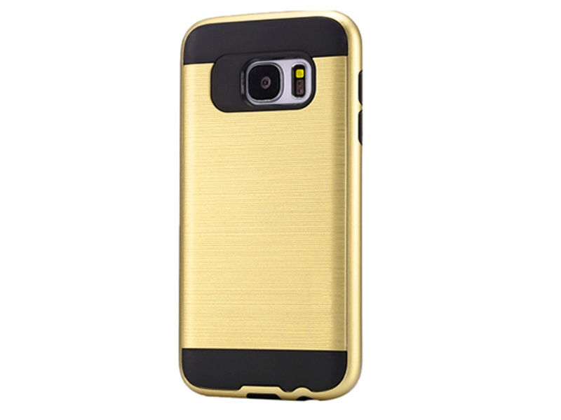 ETUI PANCERNE DO SAMSUNGA GALAXY S7 EDGE - Złoty