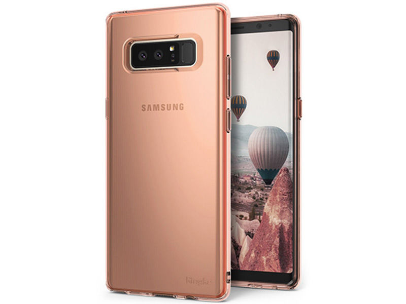 Etui Ringke Air Samsung Galaxy Note 8 Rose Gold - Różowy