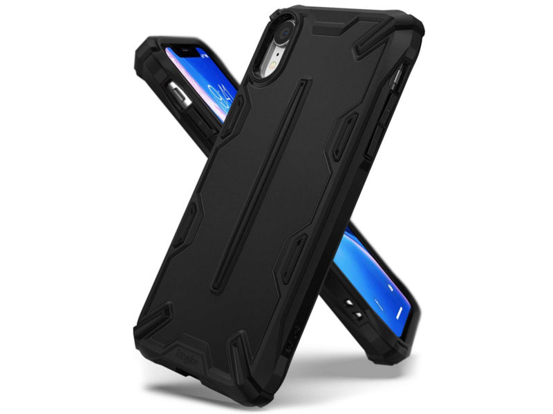 Etui Ringke Dual X Apple iPhone Xr SF Black - Czarny