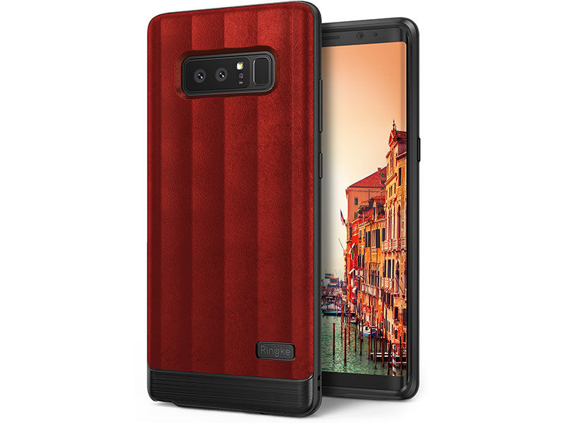 Etui Ringke Flex S Samsung Galaxy Note 8 Red - Czerwony