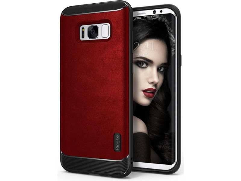 Etui Ringke Flex S Samsung Galaxy S8 Plus Red - Czerwony