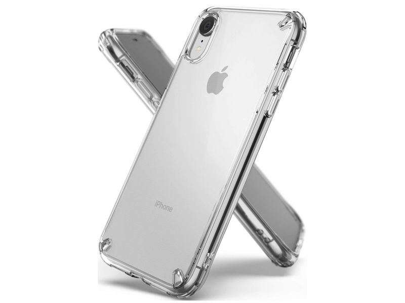 Etui Ringke Fusion do Apple iPhone XR Clear - Przezroczysty