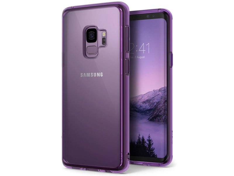 Etui Ringke Fusion do Samsung Galaxy S9 Orchid Purple - Fioletowy