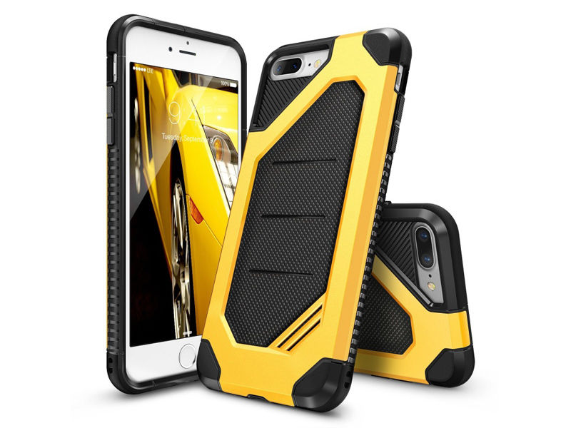 Etui Ringke MAX Apple iPhone 7/8 Bumblebee - Żółty