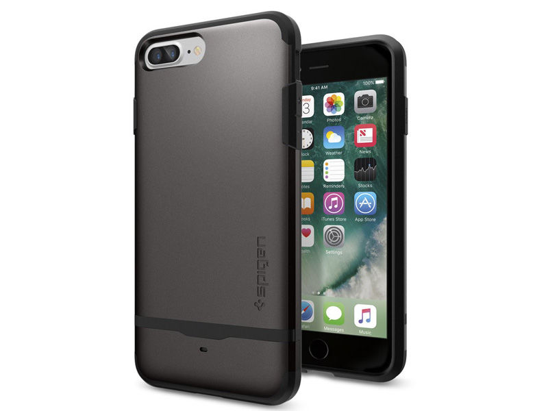 Etui Spigen Flip Case Armor iPhone 7 Plus Gunmetal