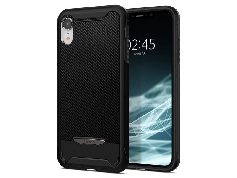 Etui Spigen Hybrid NX Apple iPhone Xr Black - Czarny