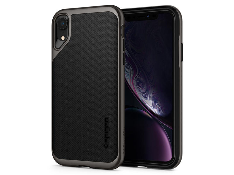 Etui Spigen Neo Hybrid Apple iPhone Xr Gunmetal - Szary