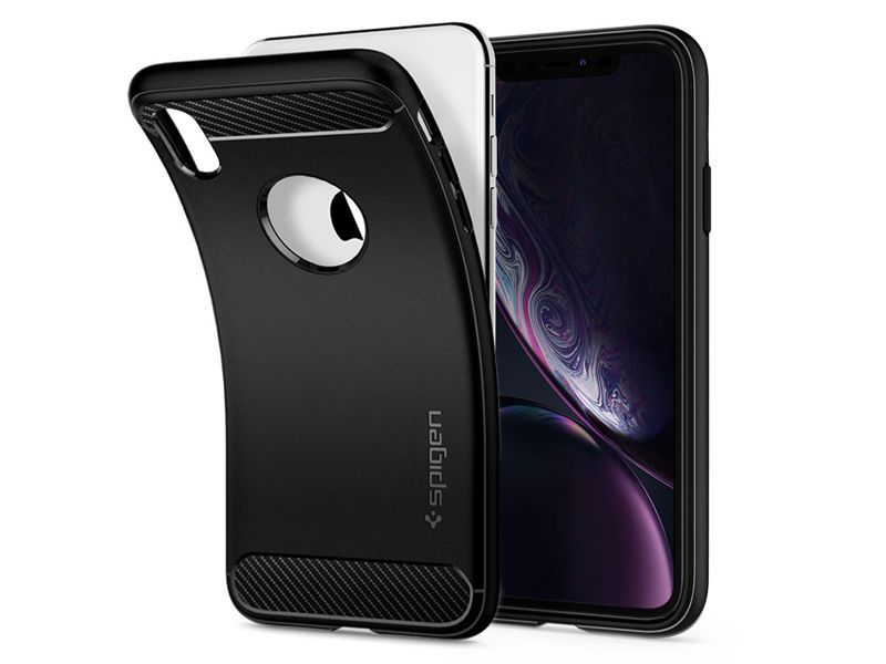 Etui Spigen Rugged Armor Apple iPhone Xr Matte Black