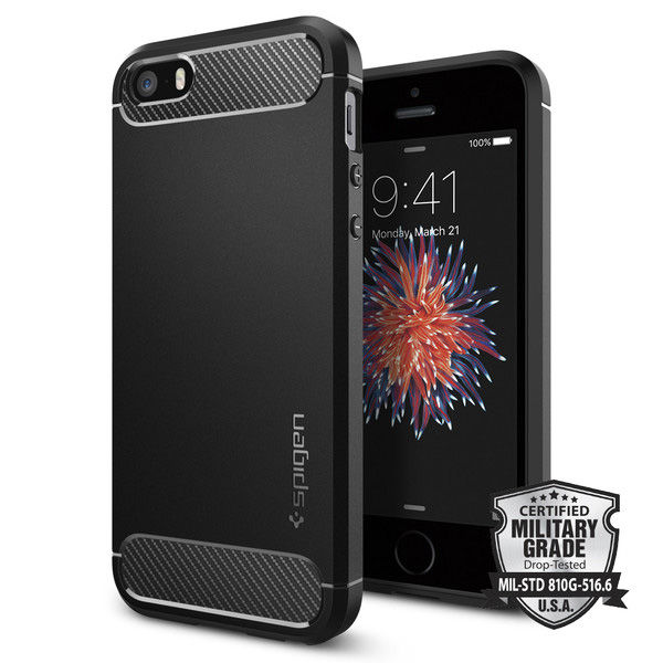 Etui spigen rugged armor iphone 5 5s se
