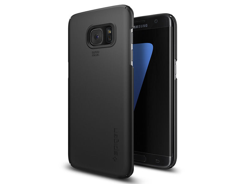ETUI SPIGEN THIN FIT SAMSUNG GALAXY S7 EDGE - Czarny