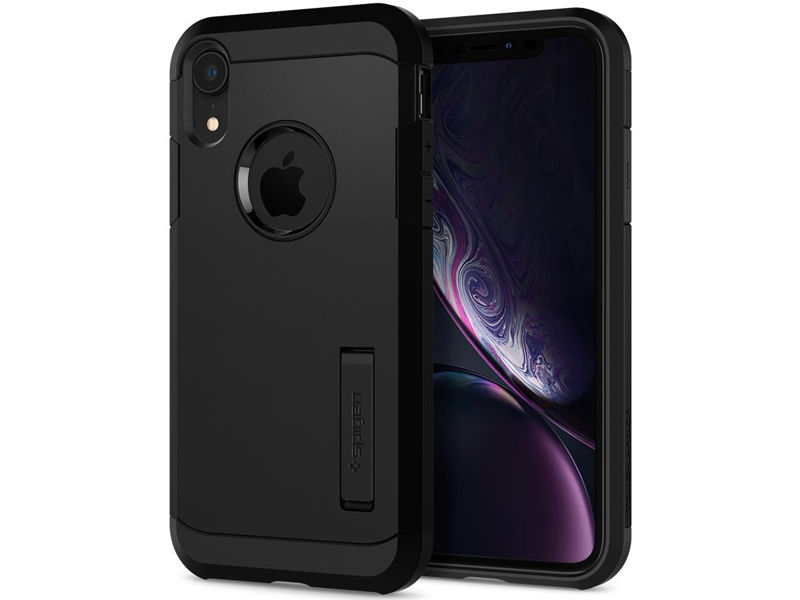 Etui Spigen Tough Armor Apple iPhone Xr Black - Czarny