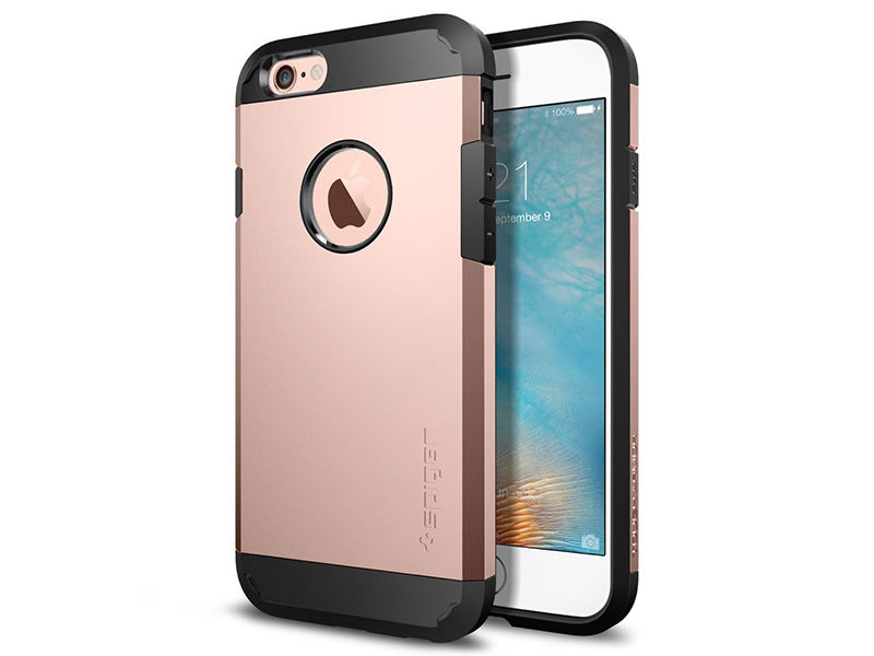 ETUI SPIGEN TOUGH ARMOR IPHONE SE/5S/5 WIELOKOLOR - Różowy