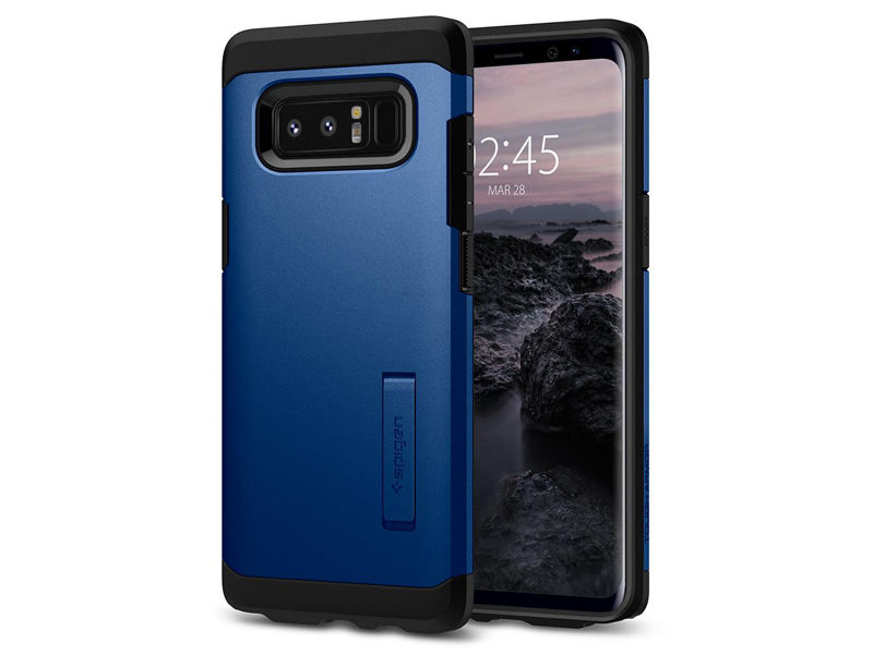 Etui Spigen Tough Armor Samsung Galaxy Note 8 - Deep Sea Blue - Niebieski