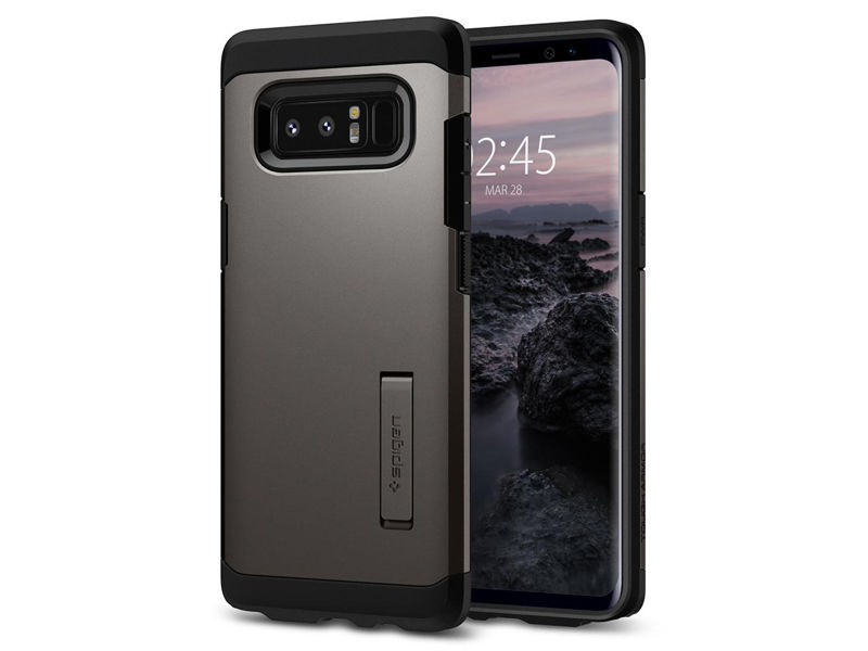 Etui Spigen Tough Armor Samsung Galaxy Note 8 - Gunmetal - Szary