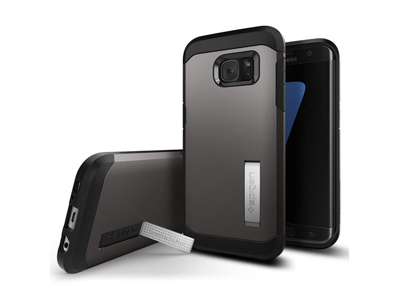 ETUI SPIGEN TOUGH ARMOR SAMSUNG GALAXY S7 EDGE - Szary