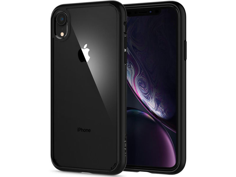 Etui Spigen Ultra Hybrid Apple iPhone Xr Matte Black - Czarny