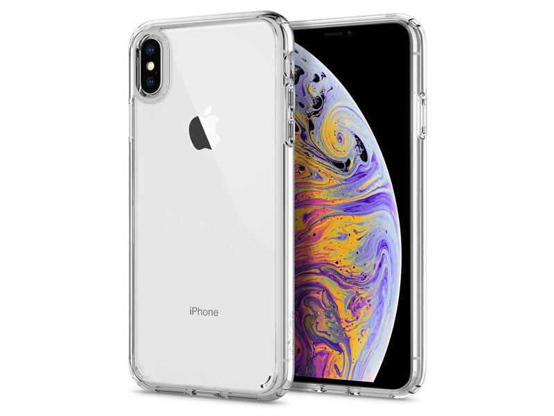 Etui Spigen Ultra Hybrid Apple iPhone Xs Max Crystal Clear - Przezroczysty