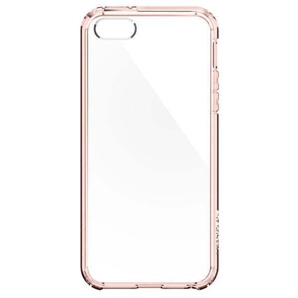 Etui Spigen Ultra Hybrid do iPhone 5/5s Rose Crystal - Różowy