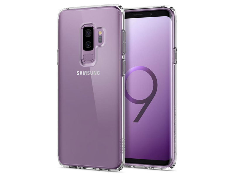 Etui Spigen Ultra Hybrid do Samsung Galaxy S9 Plus Crystal Clear - Przezroczysty