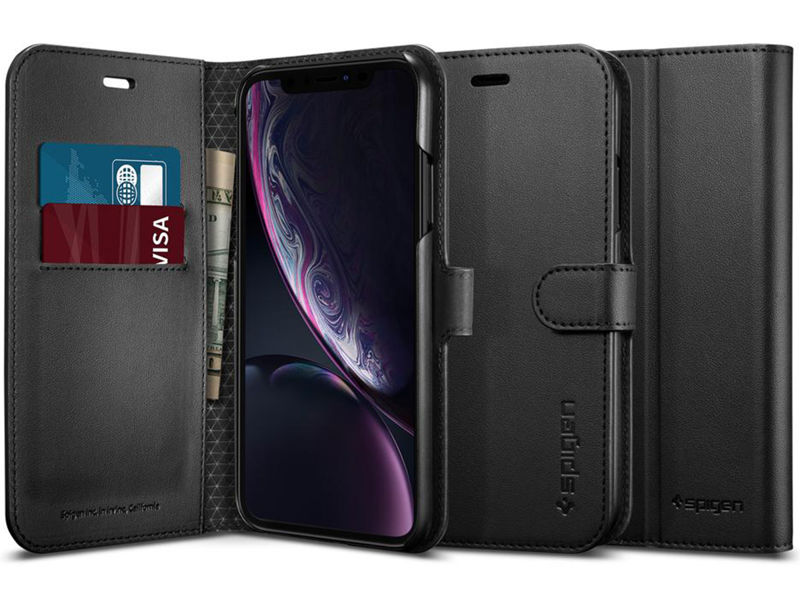 Etui Spigen Wallet S Portfel Apple iPhone Xr Black