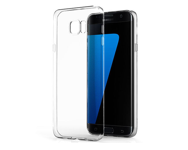 Etui transparent silikon guma do SAMSUNG Galaxy S7 Edge