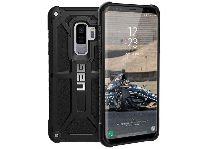 Etui UAG Urban Armor Gear Monarch Samsung Galaxy S9 Plus Black - Czarny