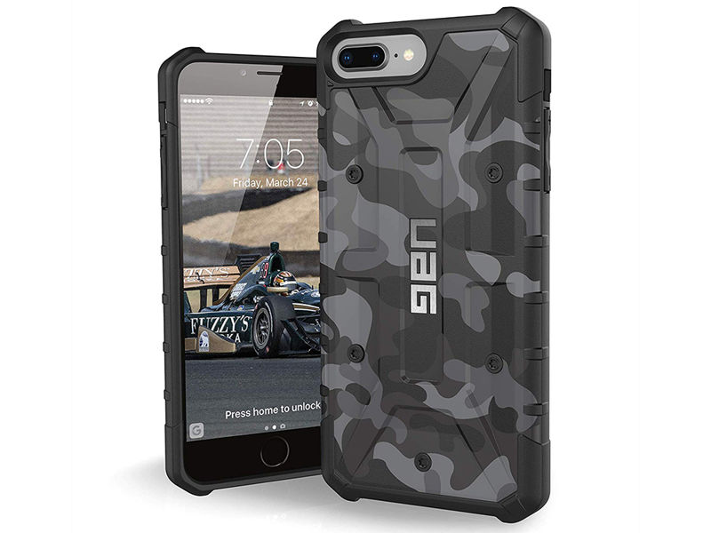 Etui UAG Urban Armor Pathfinder iPhone 8/7/6S Plus Midnight Camo - Szary