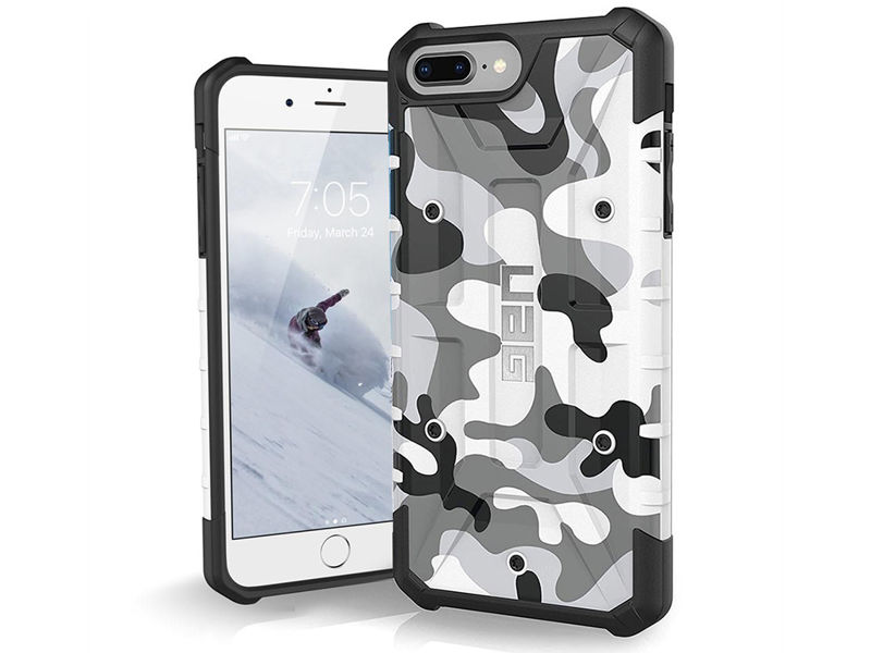 Etui UAG Urban Armor Pathfinder iPhone 8/7/6S Plus White Camo - Biały